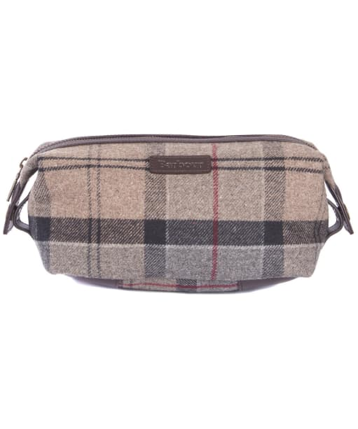 Women's Barbour Tartan Wash Bag - Winter Tartan