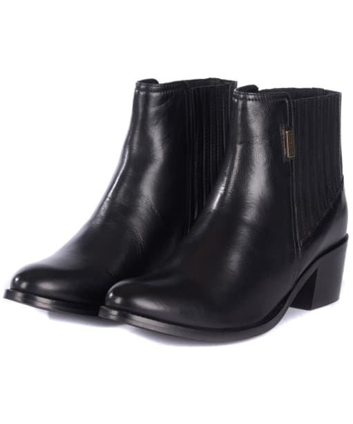 Women's Barbour International Compton Chelsea Boots - Front