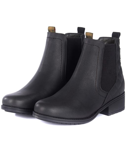 Women's Barbour Rimini Chelsea Boots - Elasticated side panel