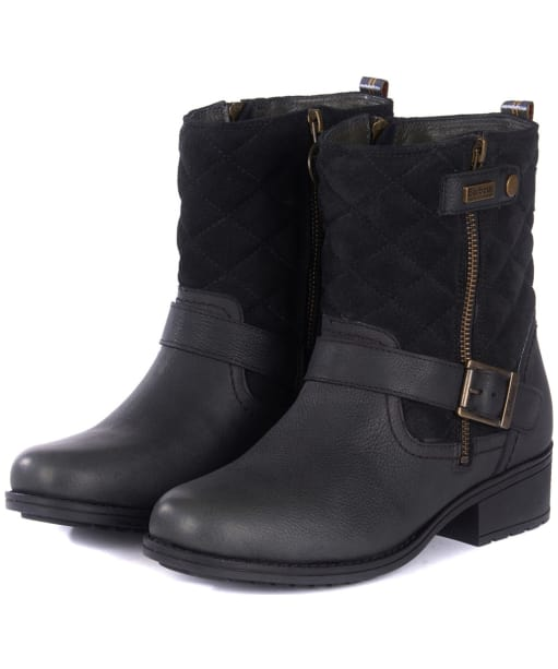 Women's Barbour Sienna Boots - Buckle detailing