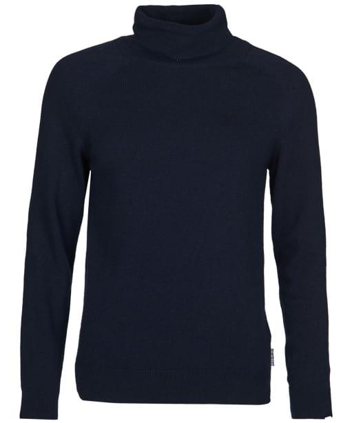Women's Barbour Pendle Roll Collar Sweater - Navy