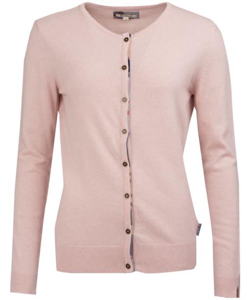 Women's Barbour Pendle Cardigan - Blush Pink