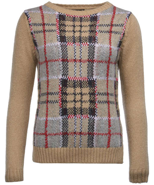 Women's Barbour Morlich Knitted Sweater - Caramel