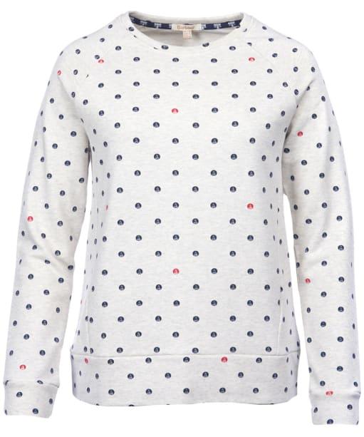 Women's Barbour Hemsley Sweatshirt - Cloud Marl