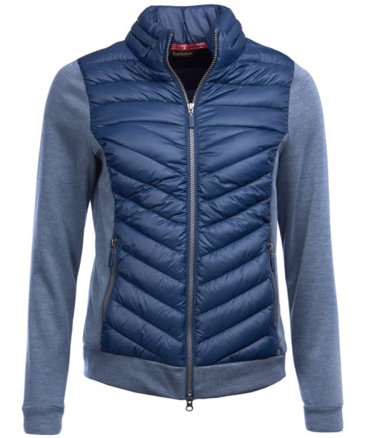 Women's Barbour Exmouth Sweater Jacket - Navy / Navy Marl