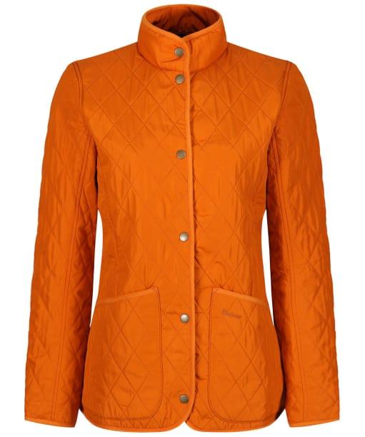 Women's Barbour Combe Polarquilt Jacket - Marmalade