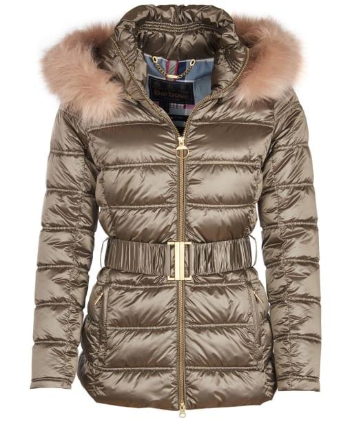 Women's Barbour Sundrum Quilted Jacket - Mink