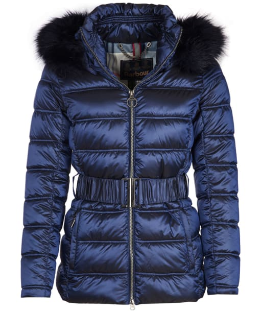Women's Barbour Sundrum Quilted Jacket - Royal Navy