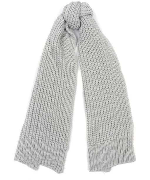 Women's Barbour Saltburn Scarf - Ice White