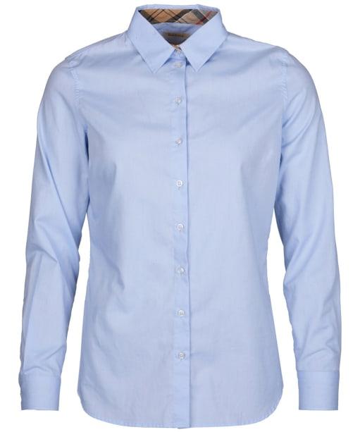 Women's Barbour Pendle Shirt - Pale Blue