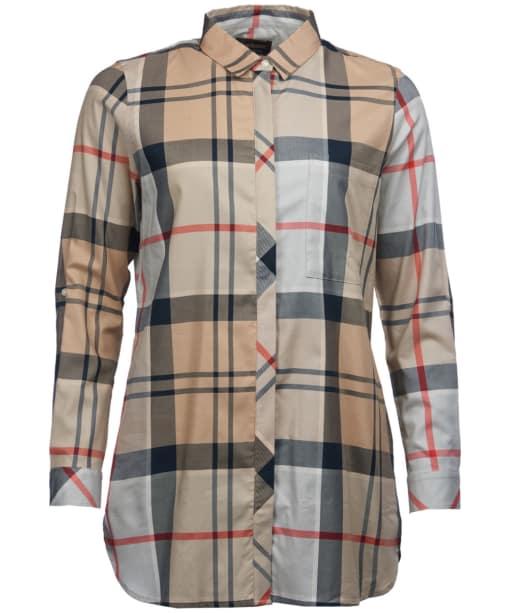 Women's Barbour Balmedie Shirt - Caramel