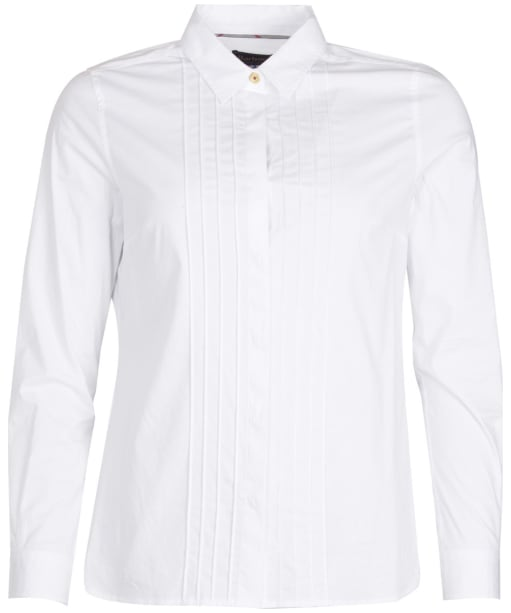 Women's Barbour Brodie Shirt - White