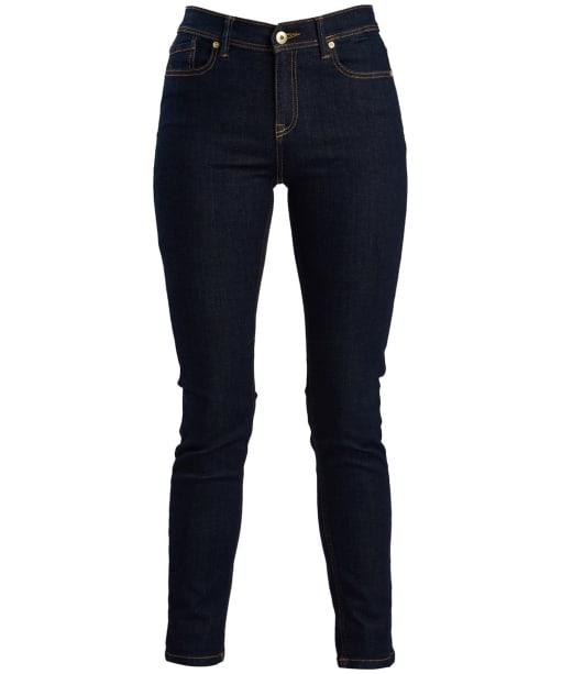 Women's Barbour International Hubcap Jeans - Rinse