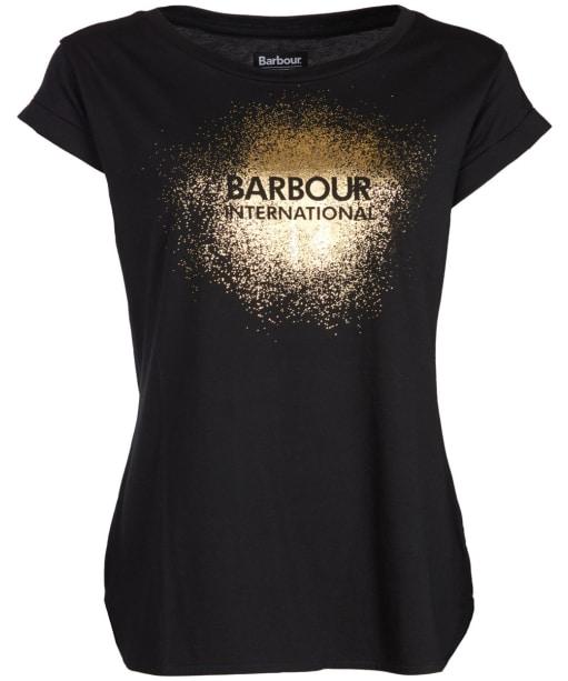 Women's Barbour International Turbo Tee - Black