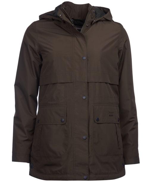 Women's Barbour Altair Waterproof Jacket - Olive