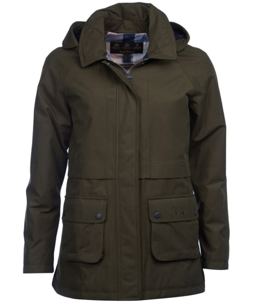 Women's Barbour Irisa Waterproof Jacket - Olive