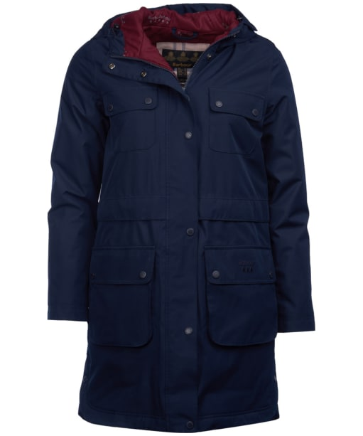 Women's Barbour Isobar Waterproof Jacket - Navy