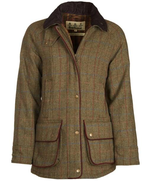 Women's Barbour Carter Wool Jacket - New Olive