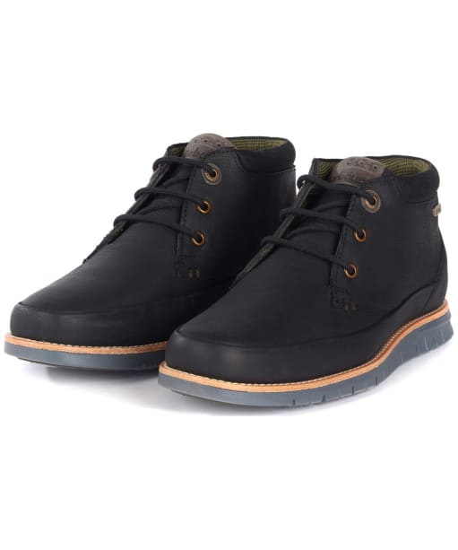 Men's Barbour Nelson Chukka Boots - Black