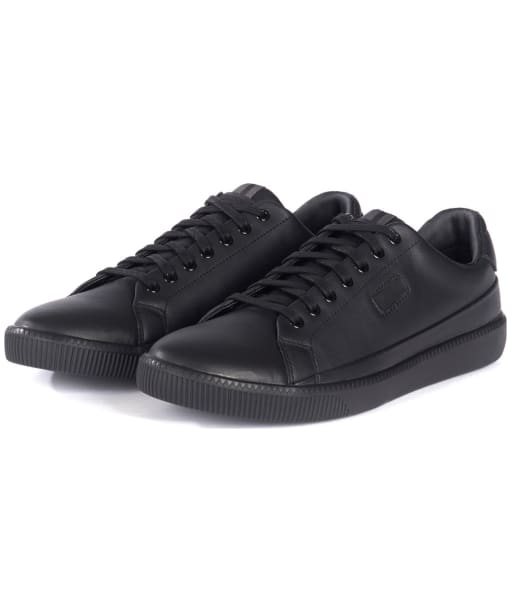 Men's Barbour International Cram Sneakers - Black