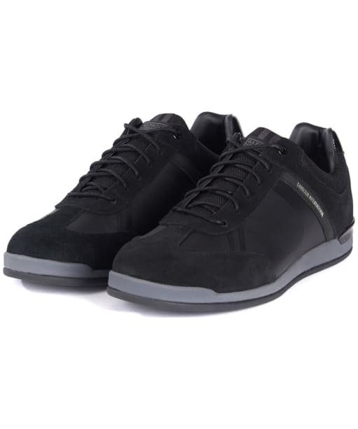 Men's Barbour International Cinder Sneakers - Black Tonal