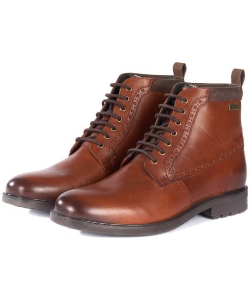 Men's Barbour Hury Derby Boots - Tan