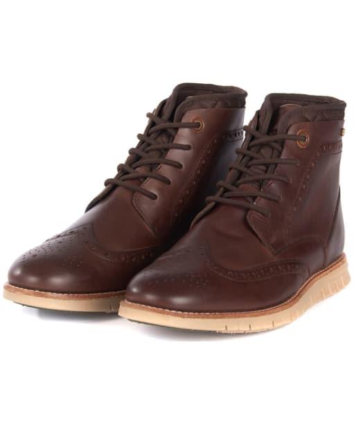 Men's Barbour Clement Derby Boots - Brown