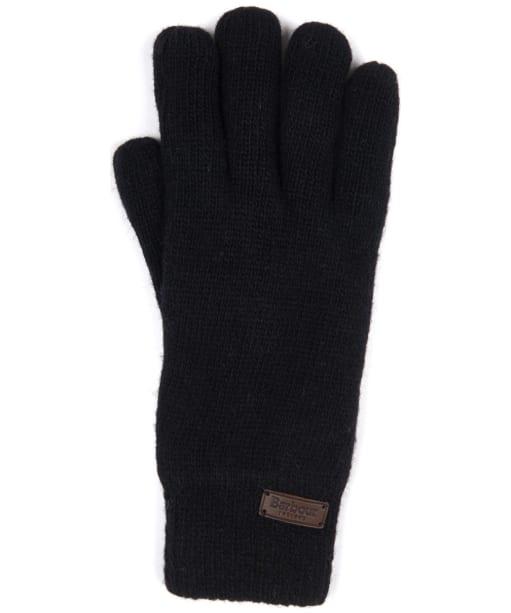 Men's Barbour Carlton Gloves - Black