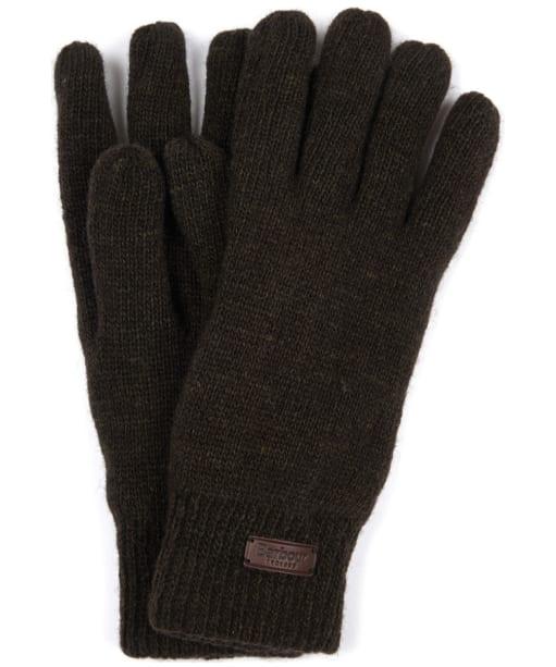 Men's Barbour Carlton Gloves - Dark Green