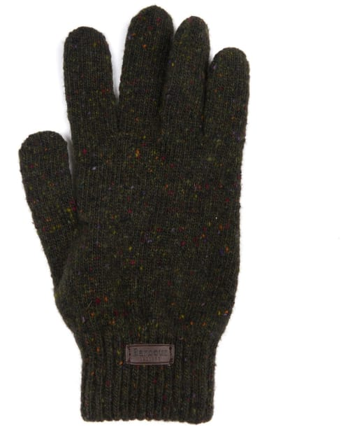 Men's Barbour Donegal Gloves - Dark Green