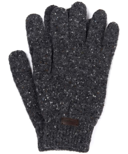 Men's Barbour Donegal Gloves - Charcoal