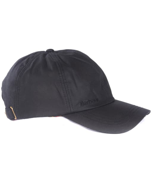 Men's Barbour Prestbury Sports Cap - Black