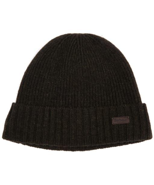 Men's Barbour Carlton Beanie Hat - Dark Green