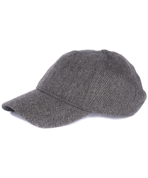Oakwell Sports Cap - Grey Herringbone