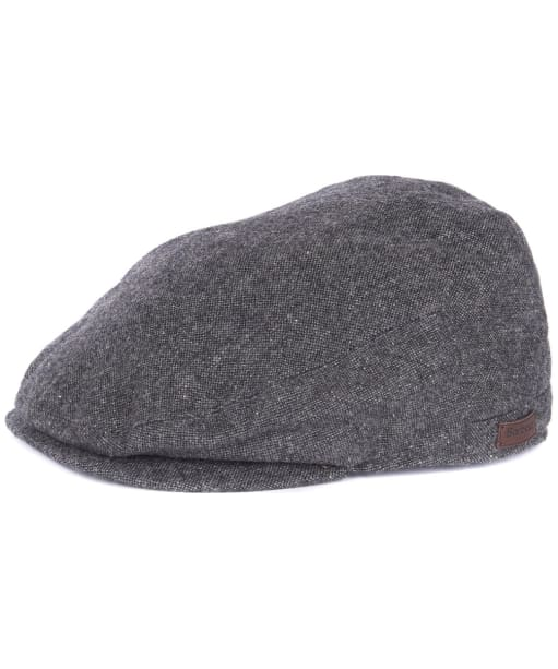 Men's Barbour Barlow Flat Cap - Grey Herringbone