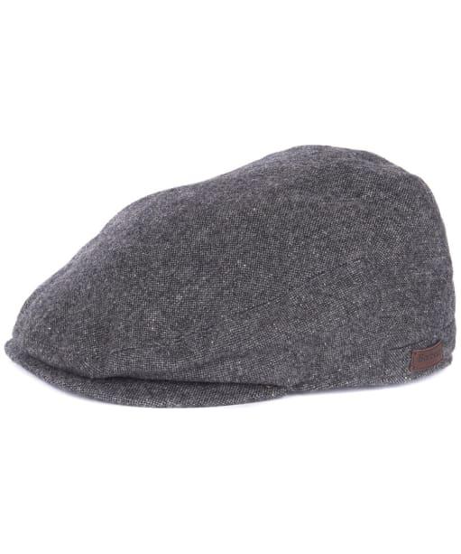 Barlow Flat Cap - Grey Herringbone