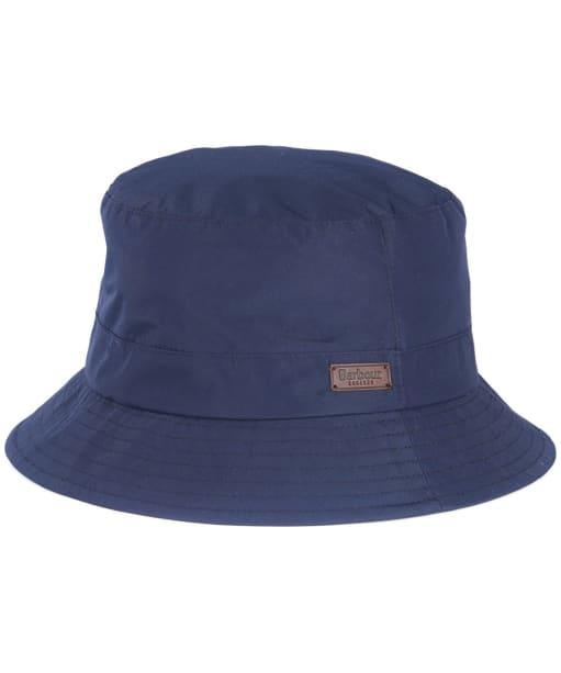 Men's Barbour Elwood Waterproof Sports Hat - Navy