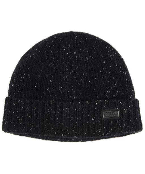 Men's Barbour International Spoiler Beanie Hat - Black