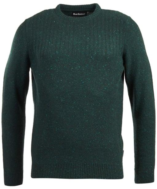Men's Barbour Tay Nep Crew Neck Sweater - Seaweed