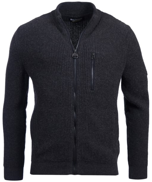 Men's Barbour International Rotor Sweater Jacket - Anthracite