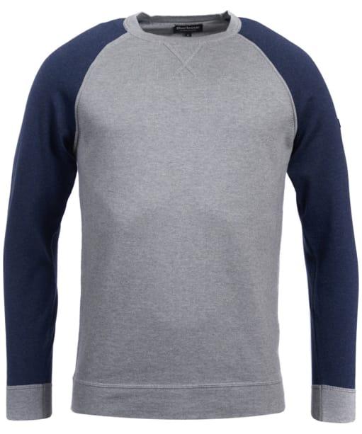Men's Barbour International Regulator Crew Neck Sweater - Grey Marl