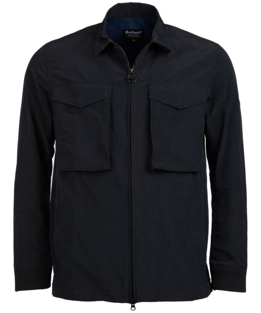 Men's Barbour International Rath Overshirt - Black