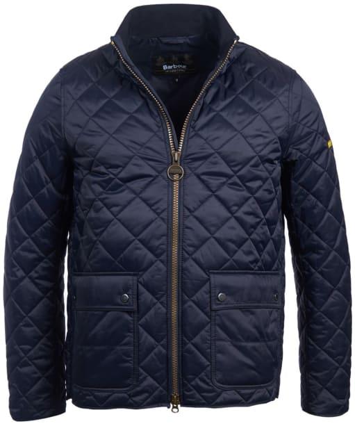 Men's Barbour International Frame Quilted Jacket - Navy