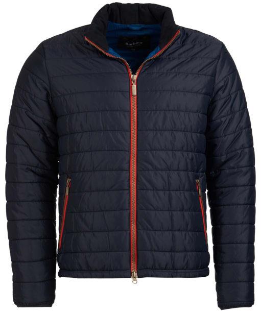 Men's Barbour International Locking Quilted Jacket - Navy