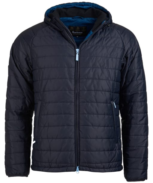 Men's Barbour International Locking Quilted Jacket - Navy
