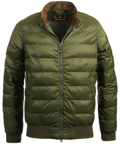 Men's Barbour Aviso Quilted Jacket - Duffle Green