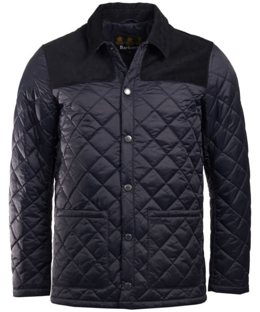 Men's Barbour Gillock Quilted Jacket - Navy