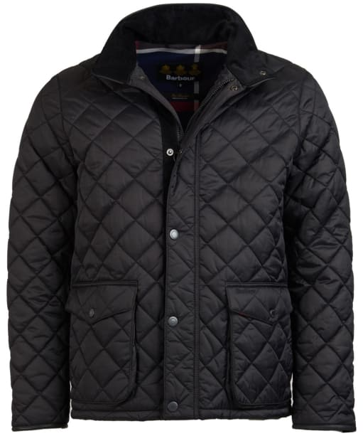 Men's Barbour Evanton Quilted Jacket - Black