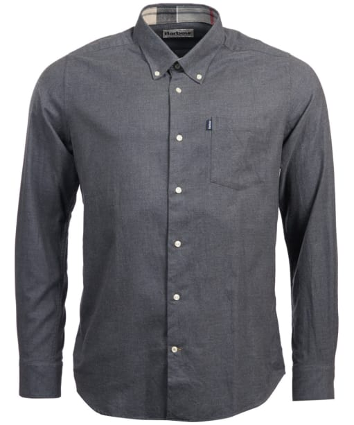 Men's Barbour Don Tailored Shirt - Charcoal