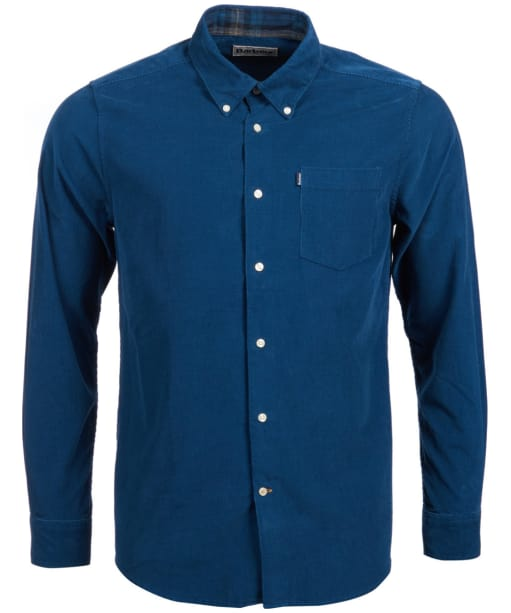 Men's Barbour Morris Tailored Fit Shirt - Dark Teal
